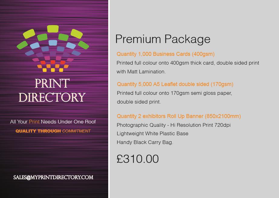 Print Directory Premium Package
