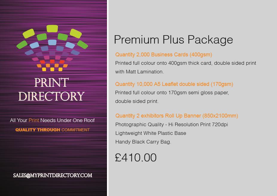 Print Directory Premium Plus Package