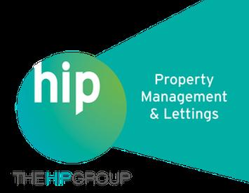 The hip group logo